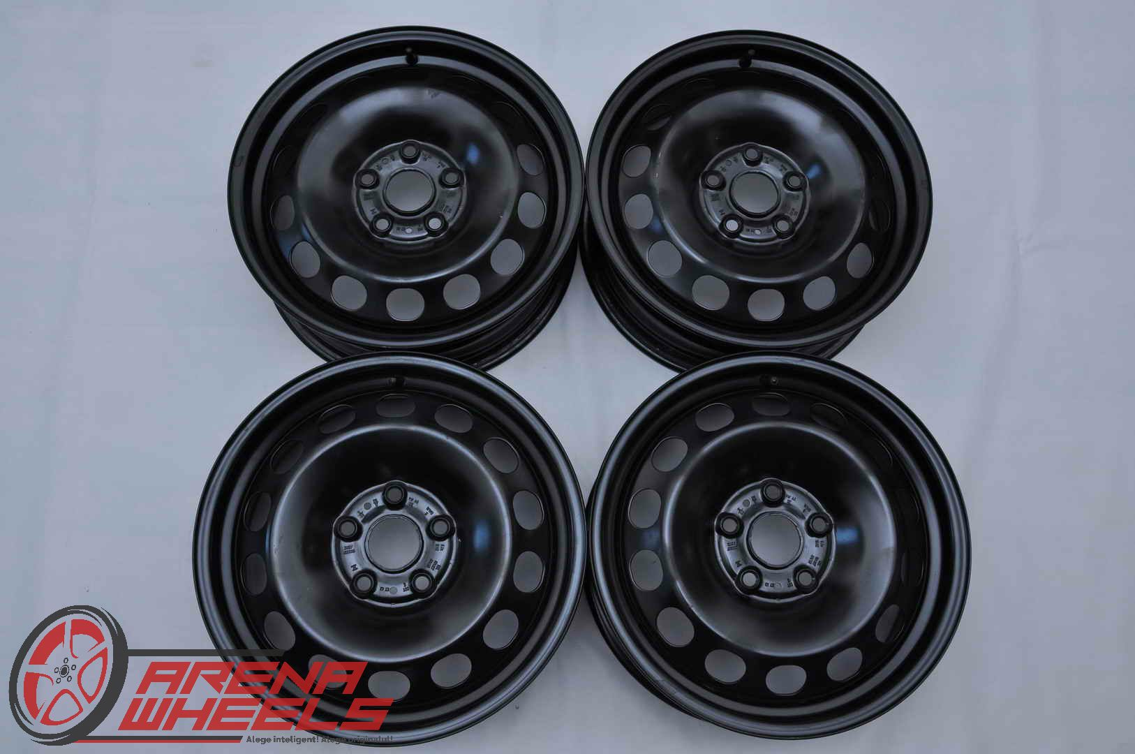 Jante Tabla Noi Originale VW T-Roc 6J 16 inch ET43 5Q0601027AM 5Q0601027AN 01