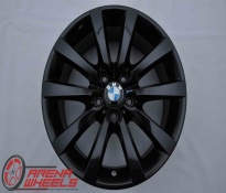 Jante Originale BMW Seria 5 F10 F11 GT F07 Seria 6 F12 F13 F06 18 inch Style 328 Negru
